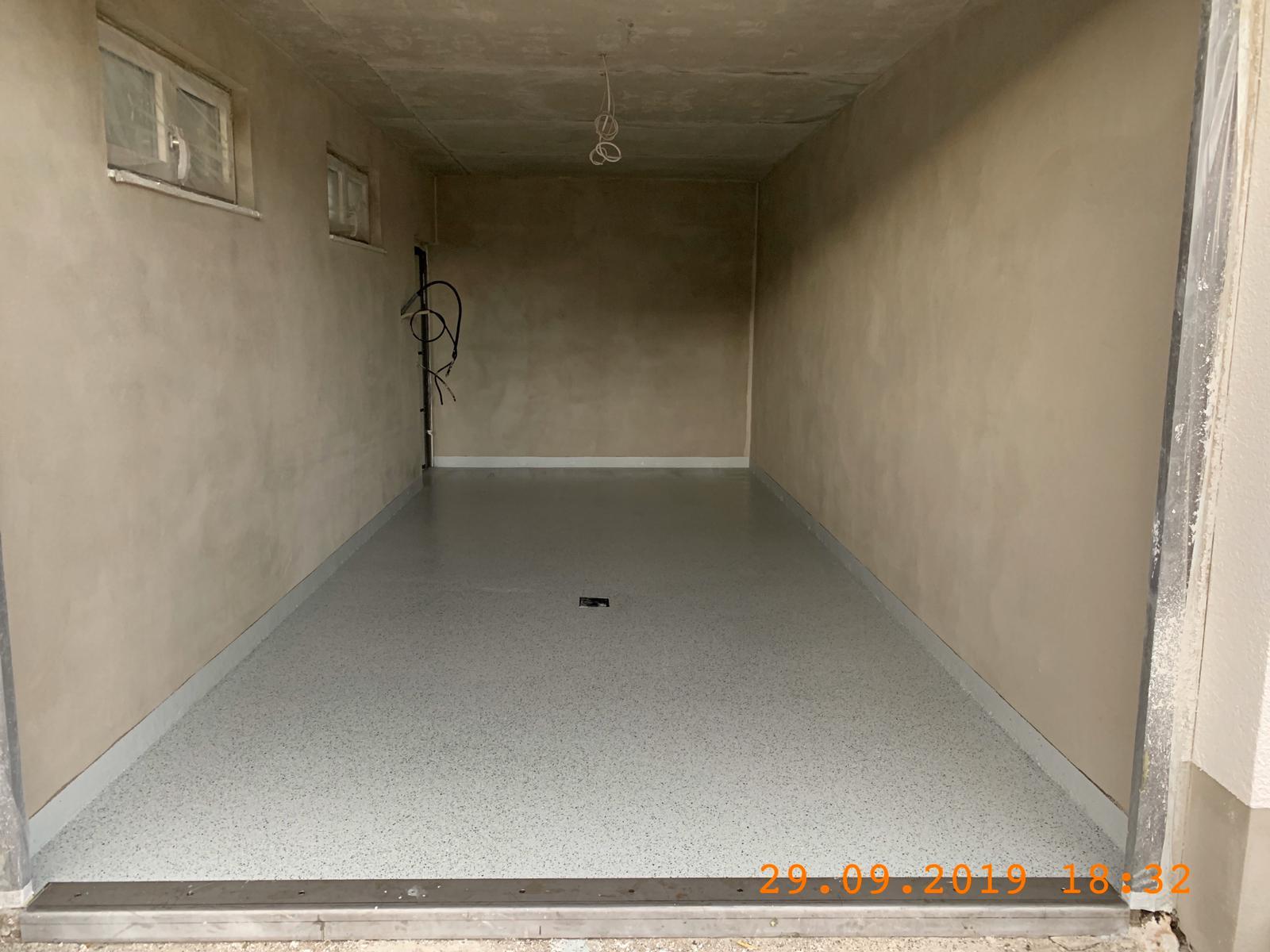 Bodenbeschichtung Garage RN Estrich