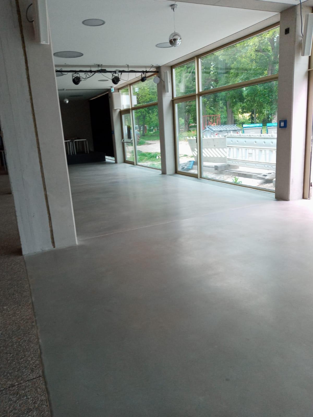 Bodenbeschichtung Kulturhaus Mannheim